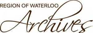 Region of Waterloo Archives logo