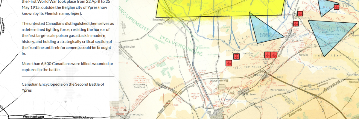 'Deep Map': 100th Anniversary of the Second Battle of Ypres